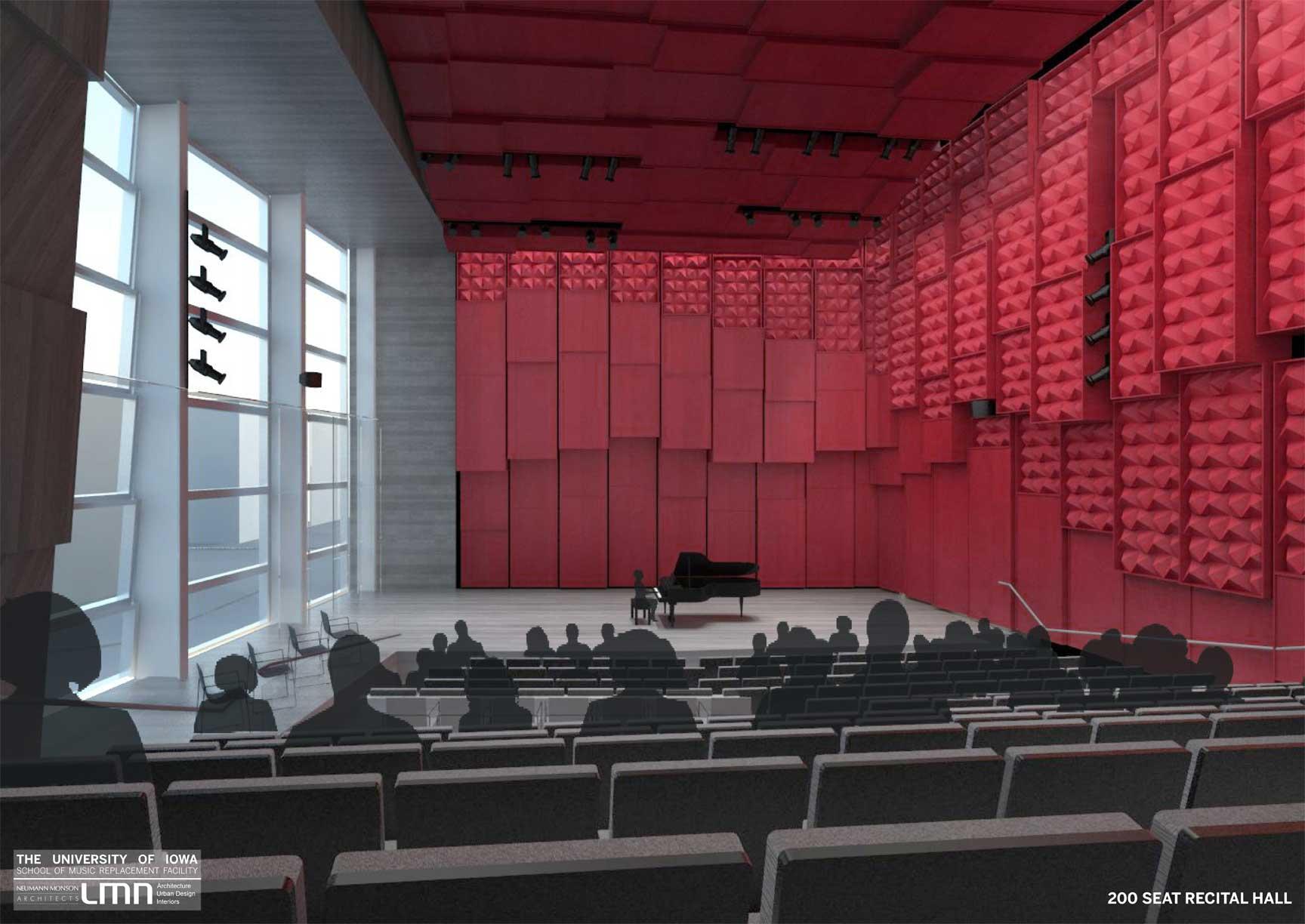 Building Renderings School Of Music College Of Liberal