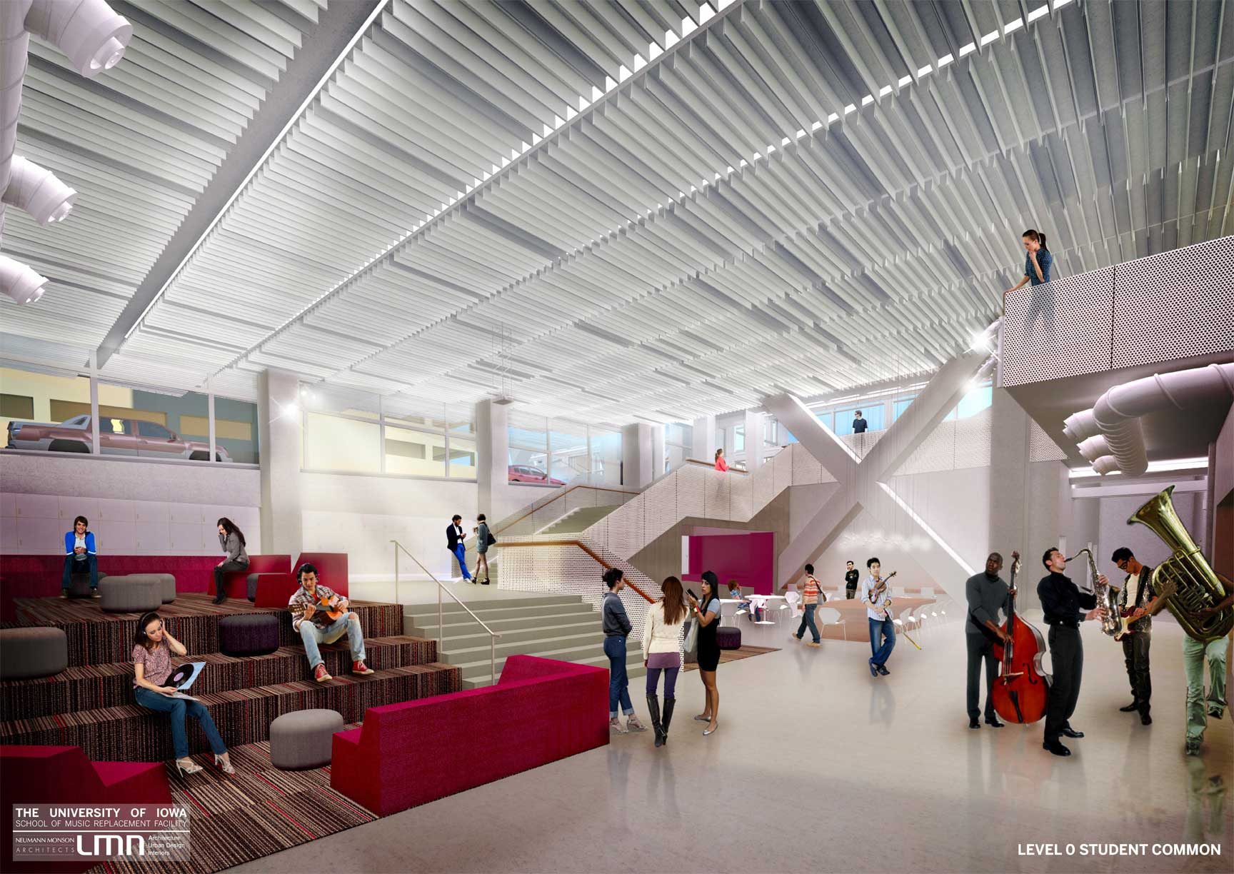 Building Renderings School Of Music College Of Liberal Arts And Sciences The University Of