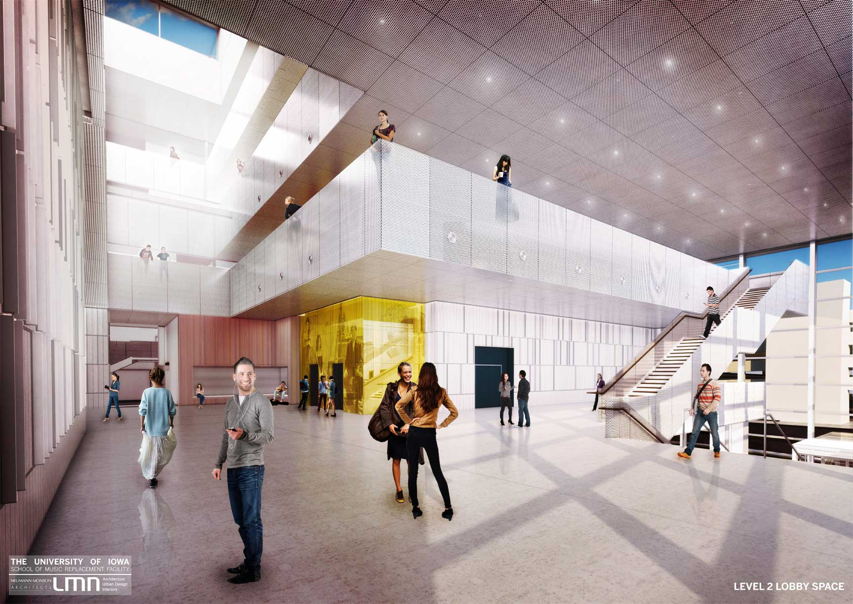 Building Renderings School Of Music College Of Liberal