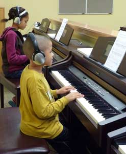 Students in Pre-College Piano Conservatory