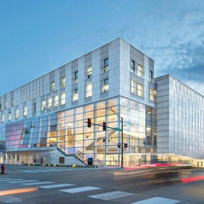Voxman Music Building exterior
