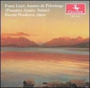 CD cover: Années de Pèlerinage (Years of Pilgrimage)