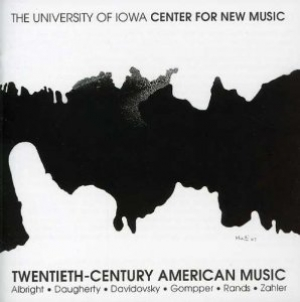 CD cover: Twentieth-Century American Music