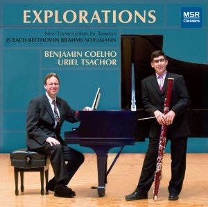CD cover: Coelho and Tsachor.
