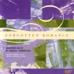 CD Cover: Forgotten Romances