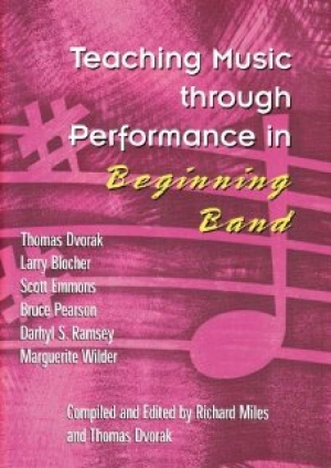 Book cover: Teaching Music through Performance in Beginning Band, Volume 1