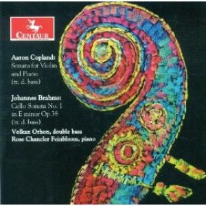 Cover, Copland Violin Sonata/Brahms Cello Sonata