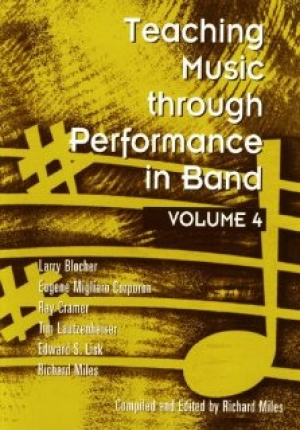 Book cover: Teaching Music Through Performance in Band, Vol. 4