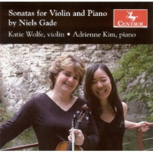 Cover, Sonatas for Violin and Piano by Niels Gade