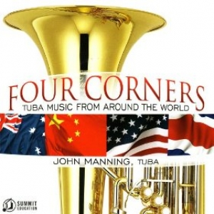 Cover, Four Corners - Tuba Music From Around the World