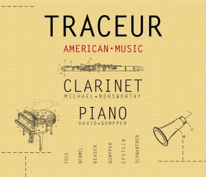 Traceur, American Music for clarinet and piano