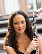 Courtney Miller, assistant professor of oboe