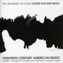 CD cover: Twentieth-Century American Music