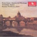 CD cover: Années de Pèlerinage (Years of Pilgrimage) Troisiéme anneé: (Third Year)