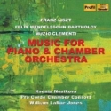 CD cover: Music for Piano and Chamber Orchestra