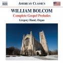 Cover : William Bolcom: Gospel Preludes Books 1-4