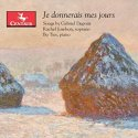 CD cover art - one of Monet's Haystack paintings - a snowcovered haystack in a snowcovered field