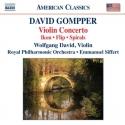album cover: Gompper Violin Concerto