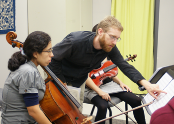 String Quartet instructor